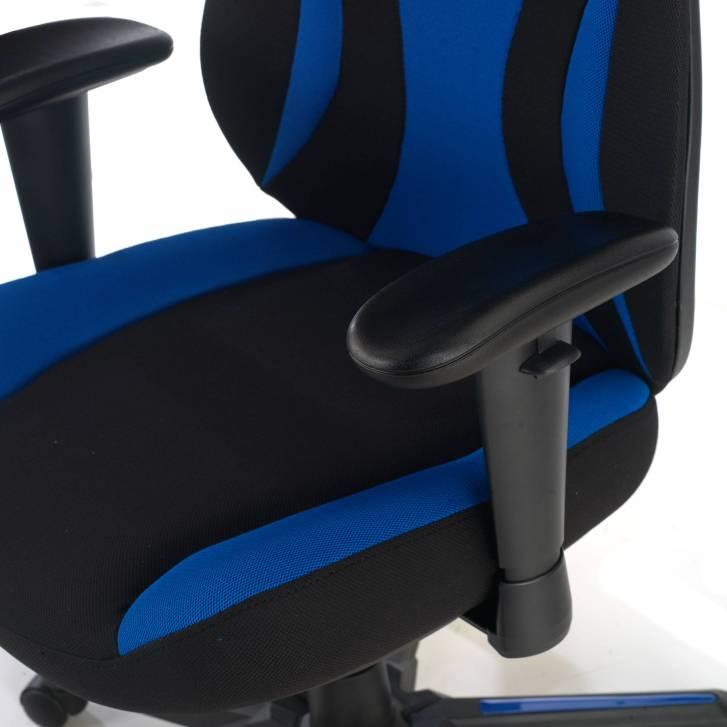 Silla Gaming Titan azul_1