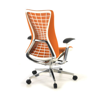 Miller ergonomic stoel orange