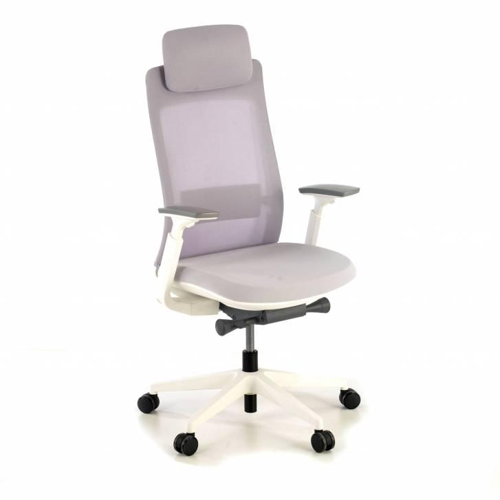 Gesture chair white grey
