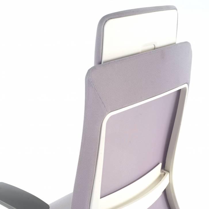 Reflect chair white grey