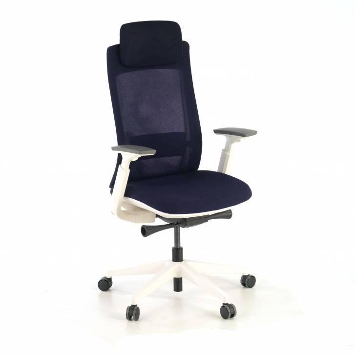 Reflect chair white blue