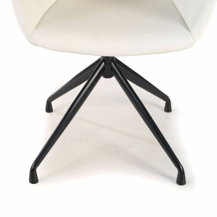 Anne Chair wood Ecoleather...