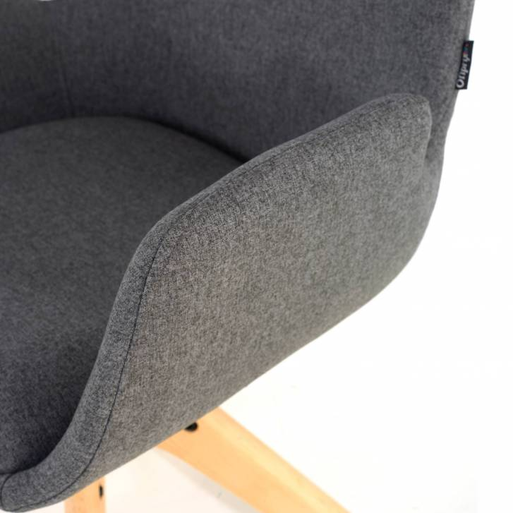 Elodie Chair wood Seat black
