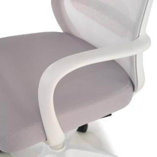 Point white Chair grey