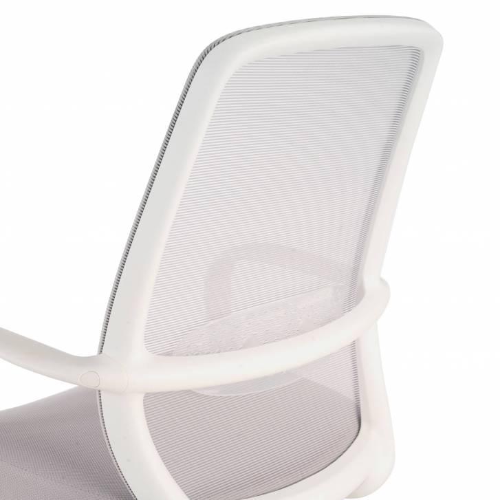 Point white Chair grey