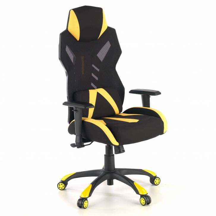Fenix gaming chair yellow
