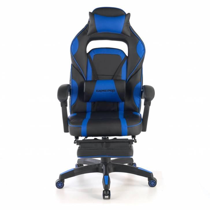 Logan gaming chair blue