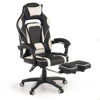 Logan gaming chair white