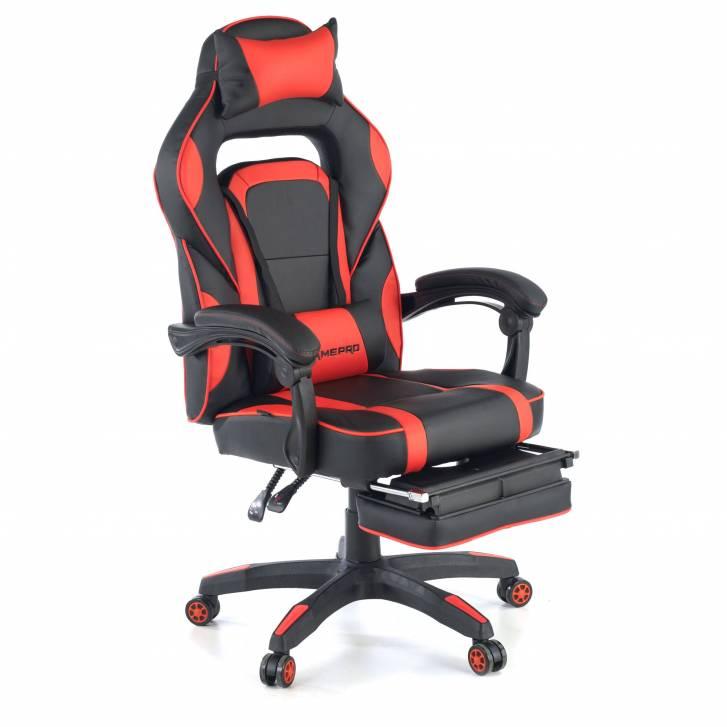 Logan gaming chair red