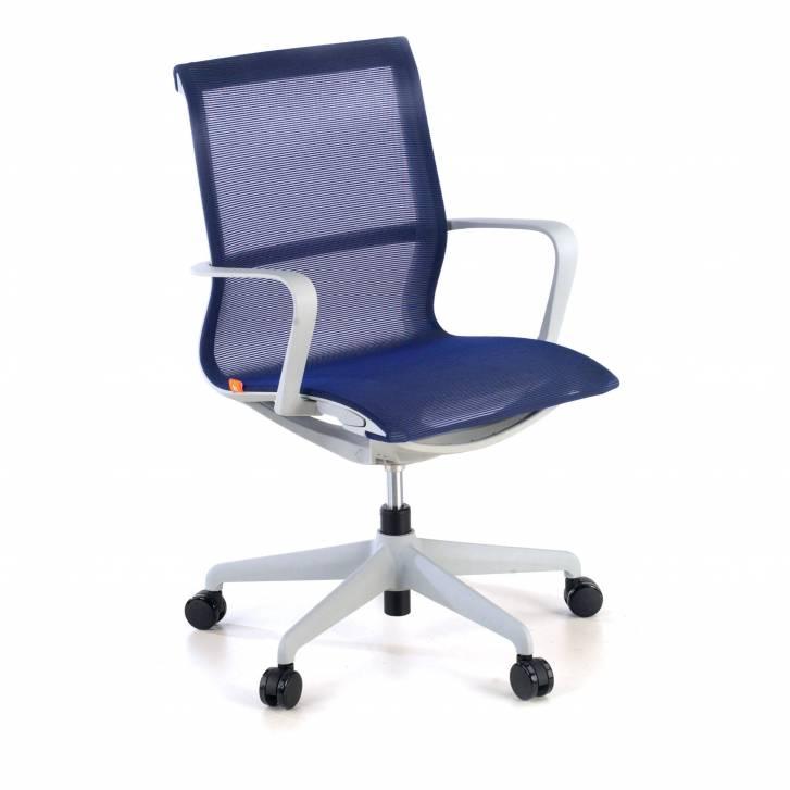 Ice chair grey blue