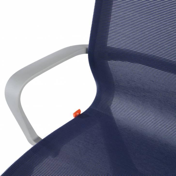 Design-Bürostuhl Ice grey,...