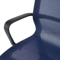 Ice chair black blue
