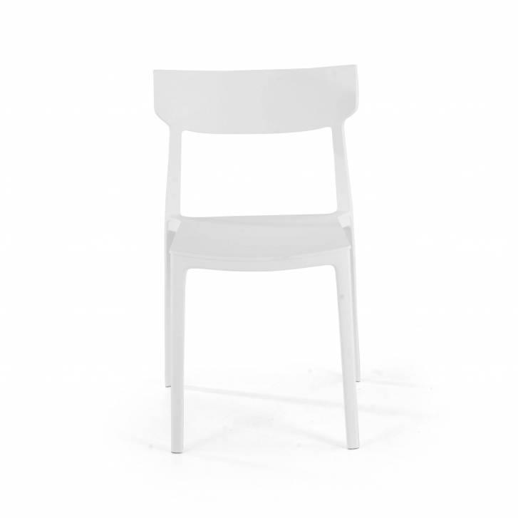 Folk chair white