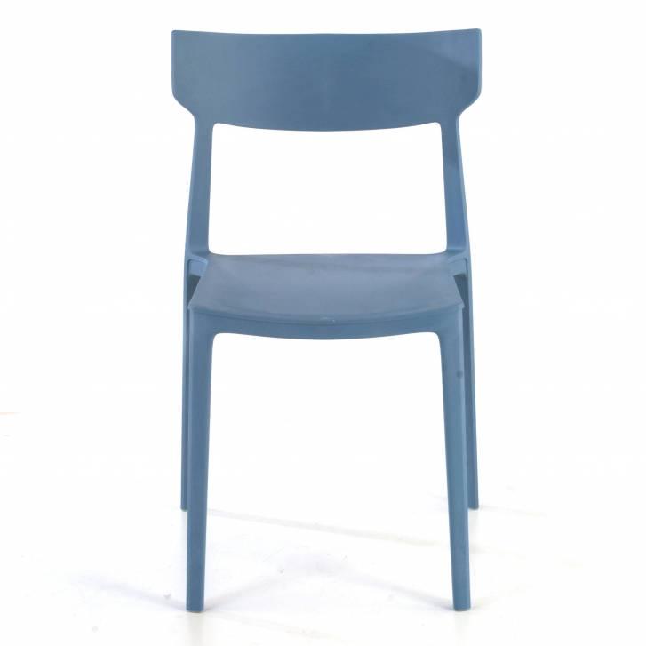 Folk chair blue