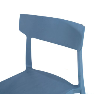 Folk chair blue