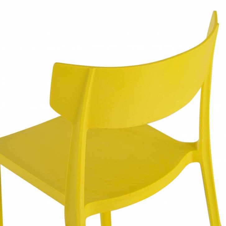 Folk chair yellow