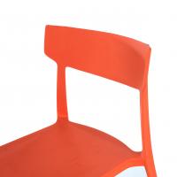 Folk chair red