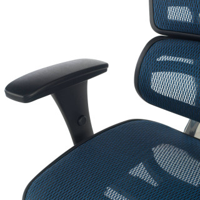 Ergoplus stuhl blau