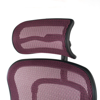 Ergoplus stuhl rot