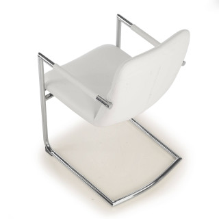 Oslo Chair Cantilever white