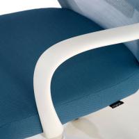 Point white Chair Blue
