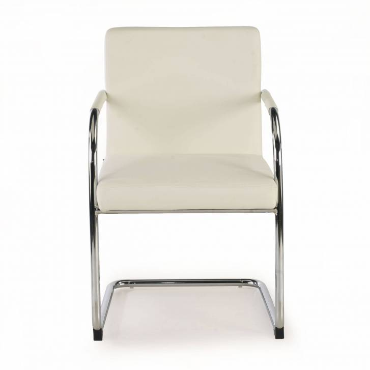 Brandy Chair Cantilever white