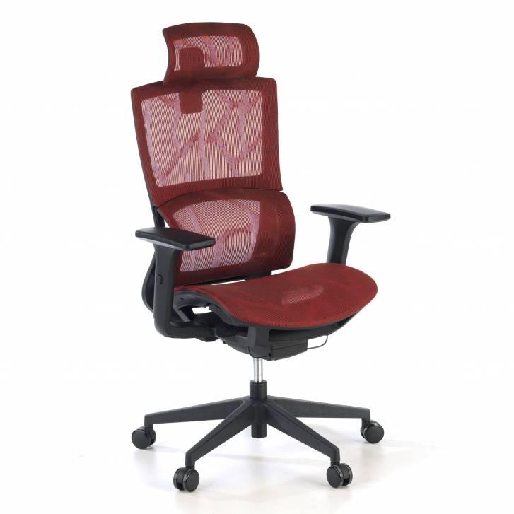 Vortex Stuhl, Netzgewebe in rot