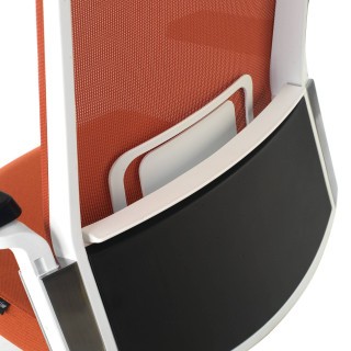 Pacific Chair White orange