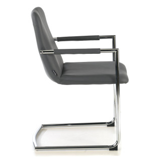 Oslo Chair Cantilever grey