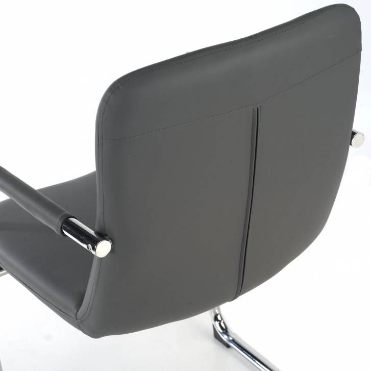 Oslo Chair Cantilever grey