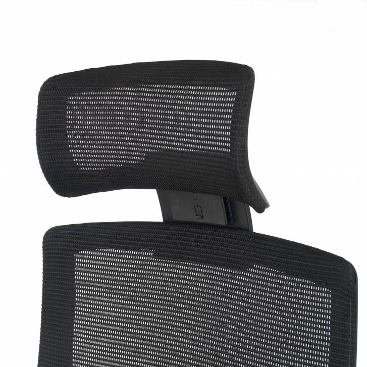 Boston chair black mesh