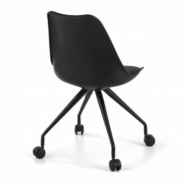 Nordic desk chair black