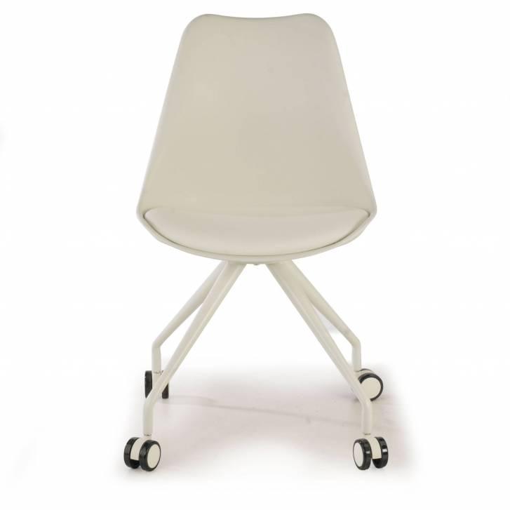 Nordic desk chair white