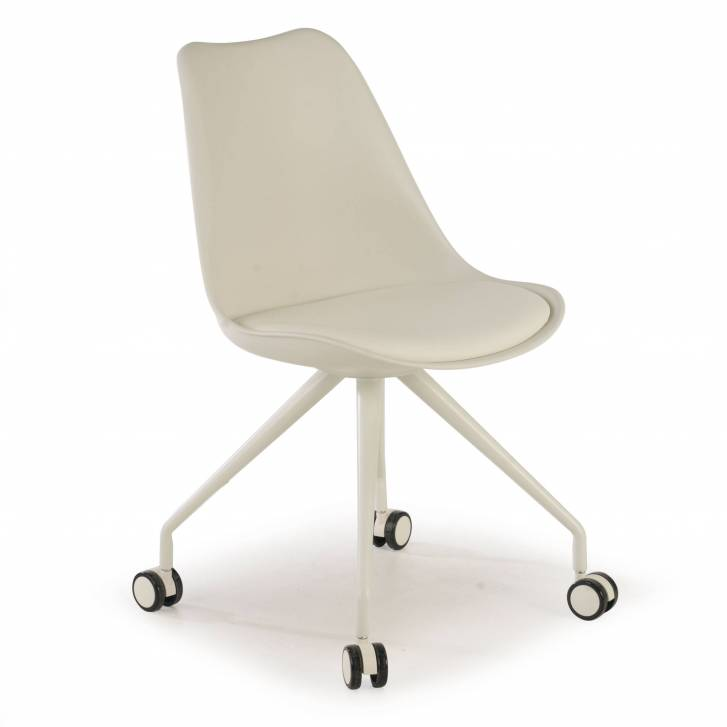 Nordic desk chair white