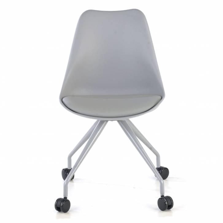 Nordic desk chair grey