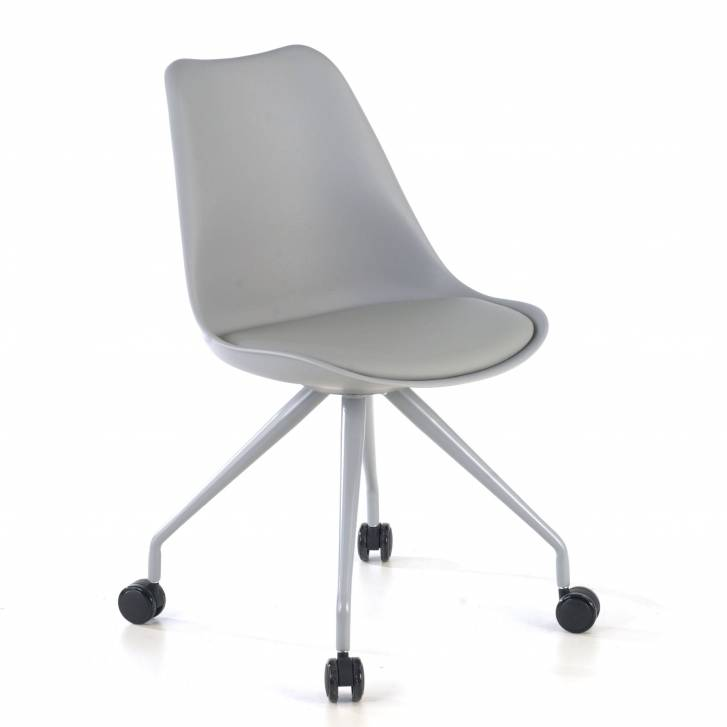 Nordic desk chair grey