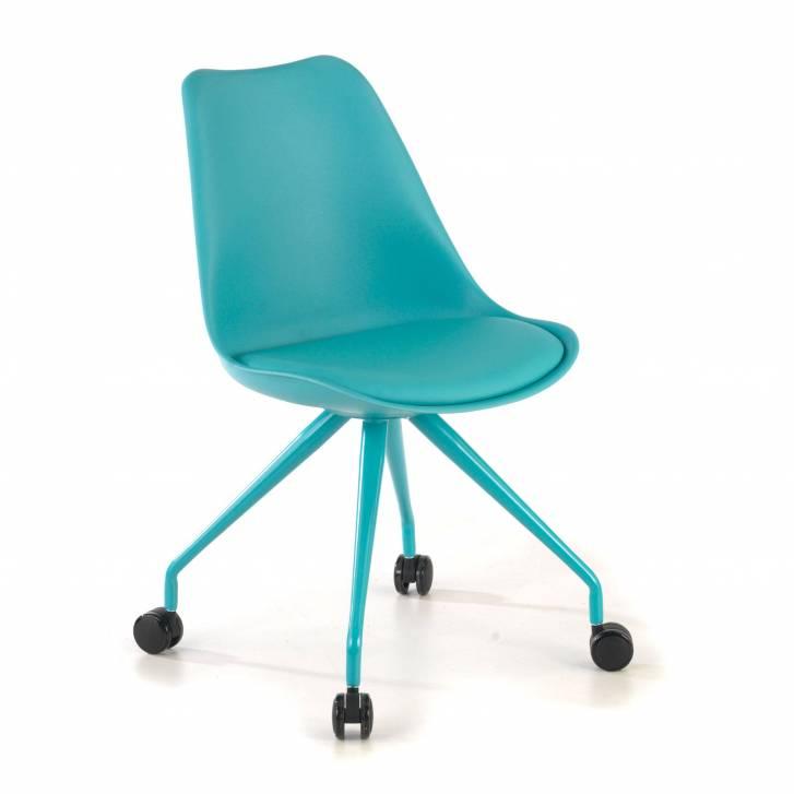Nordic desk chair blue
