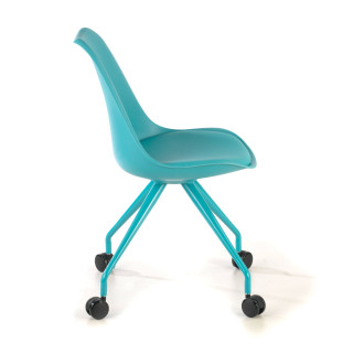 Nordic desk chair blue
