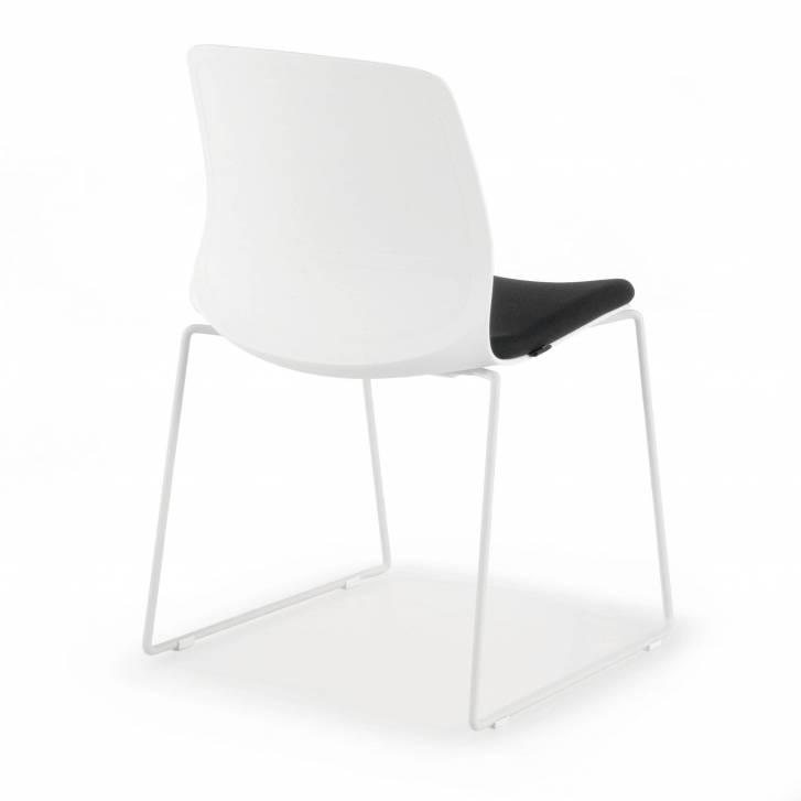 Nexus Chair Cantilever Black