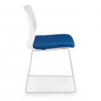 Nexus Kufenstuhl blau