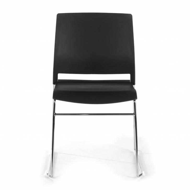Lotus Chair Cantilever Black