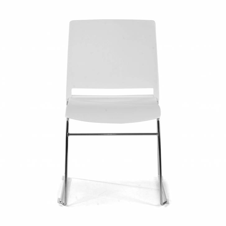 Lotus Chair Cantilever white