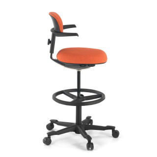 Erghos stool orange