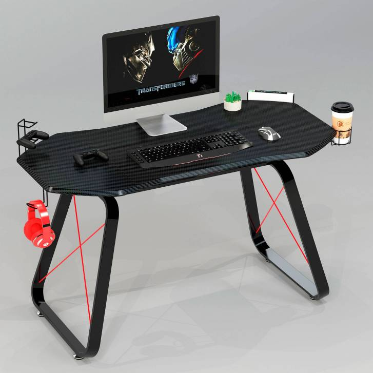 Bureau gamer Racer, fibre...