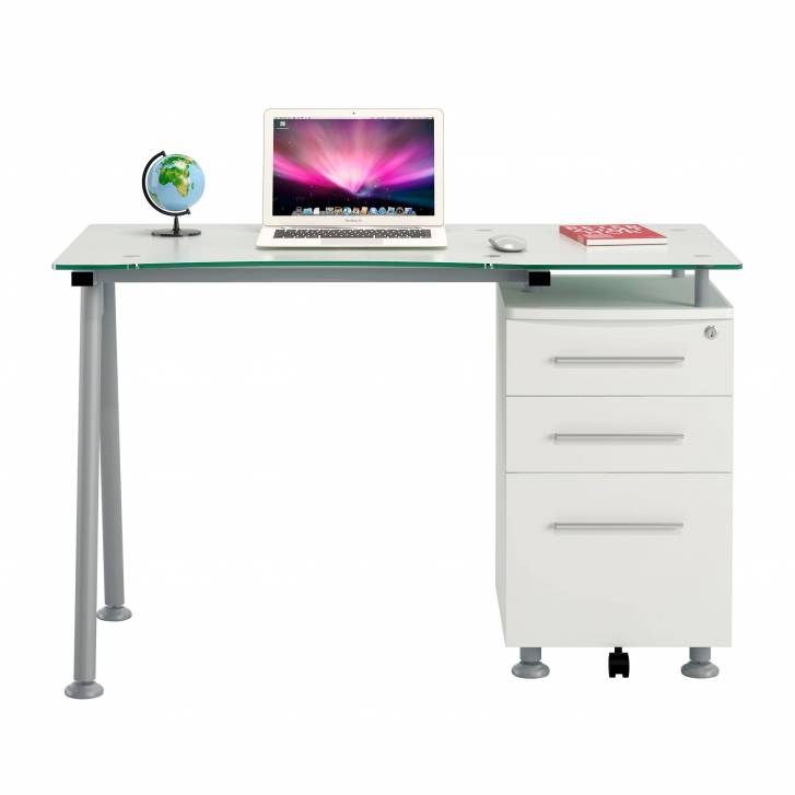 Strong desk with drawer unit
