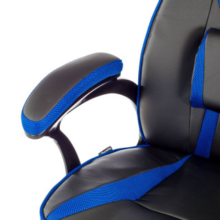 Silla Gaming Warrior Azul