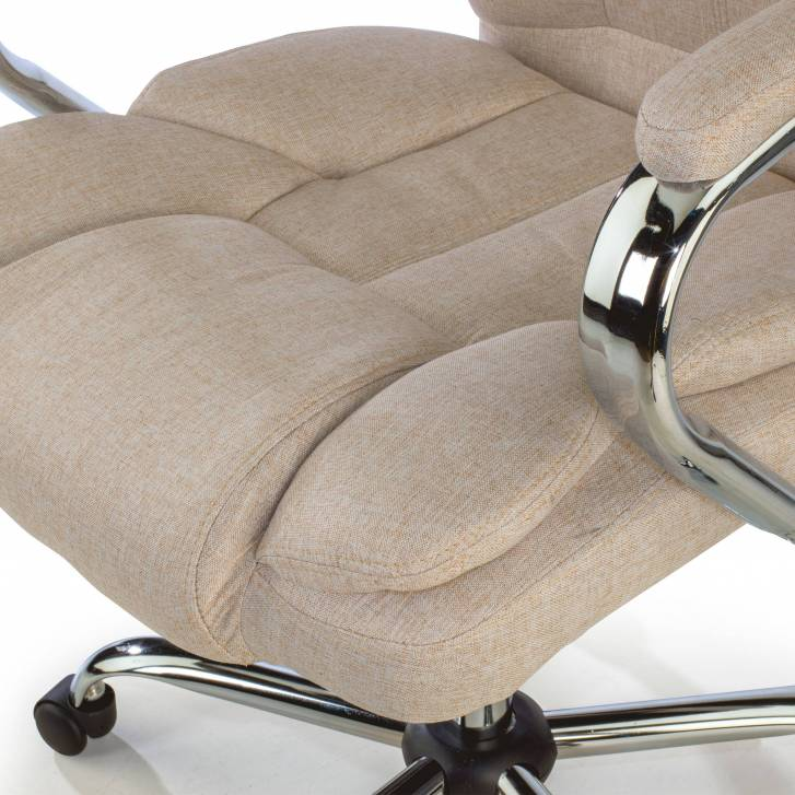 Lausana Armchair beige fabric