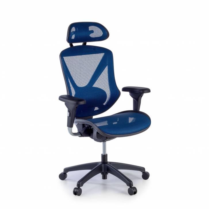 Munich chair blue mesh