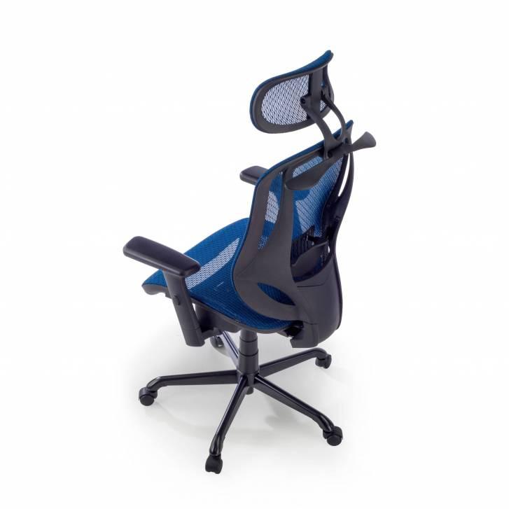 Locktech Chair blue mesh