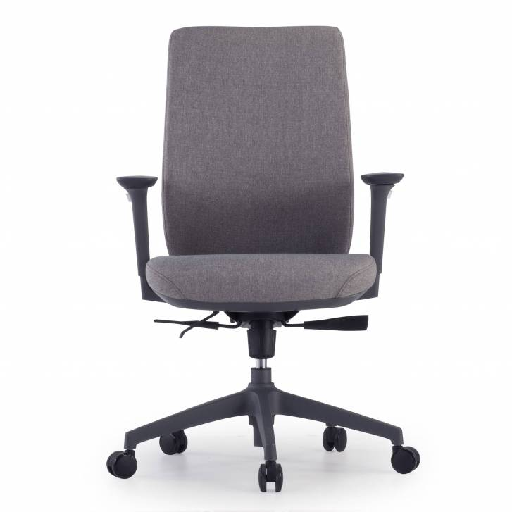 Wind Chair Upholstered Grey